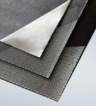 Graphite Sheet reinforced with Tanged Metal